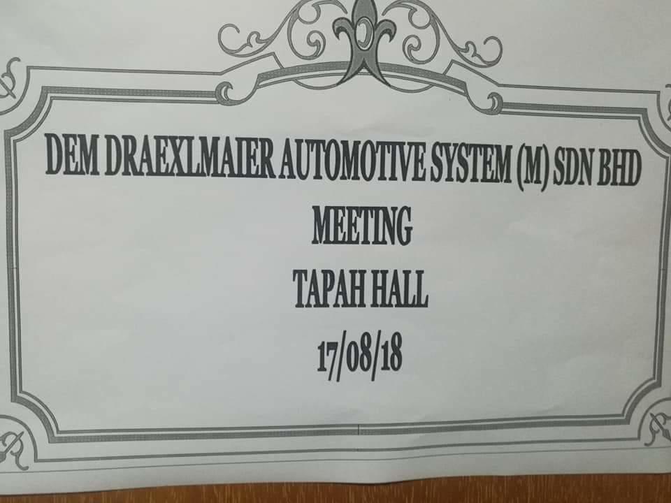Drexelmeier Automative Systems Ipoh,perak