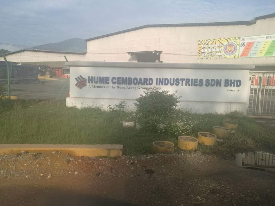 Hume Cemboard Industries sdn bhd Ipoh Perak